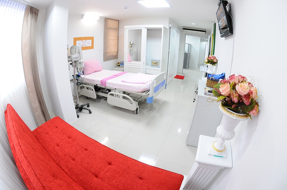 ห้องพักผู้ป่วย โรงพยาบาลเอเซีย